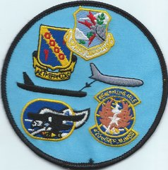 USAF PATCH 42 BOMBARDMENT WING GAGGLE LORING ARB (MH)