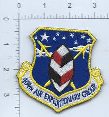 USAF PATCH 404 AIR EXPEDITIONARY GROUP ON VELCRO USAFE GROUP BASED IN THE HORN OF AFRICA
