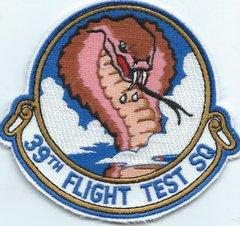 USAF PATCH 39 FLIGHT TEST SQUADRON