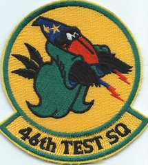 USAF PATCH 46 TEST SQUADRON