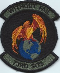USAF PATCH 73 SPECIAL OPERATIONS SQUADRON**