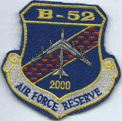 USAF PATCH B-52 2000HOURS AIR FORCE RESERVE (MH) ON VELCRO