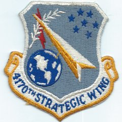 USAF PATCH 4170 STRATEGIC WING LARSON AFB (MH)