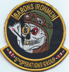 USAF PATCH 5TH OPERATIONS GROUP (MH)