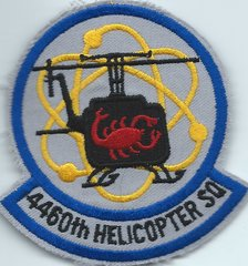 USAF PATCH 4460 HELICOPTER SQUADRON NELLIS AFB