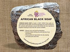 African Black Soap (16oz) Bar