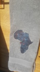 Grey Africa Bath Towel