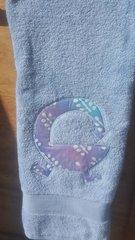 Powder Blue Sankofa Bath Towel