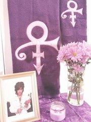 His Purple Majesty Towel Set