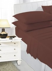 Chocolate fitted sheet
