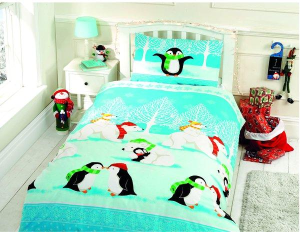 Christmas Cuddles duvet cover
