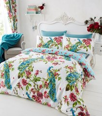 Plume multi duvet cover