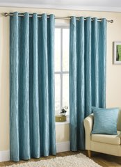 Coco duck egg eyelet curtains