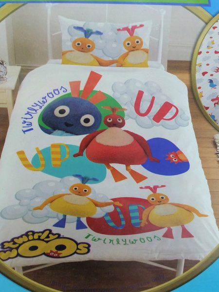Twirlywoos single duvet cover
