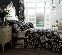 Richmond black duvet cover