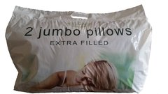 Extra filled pillows - 2 pack