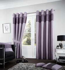 Fuel heather eyelet curtains