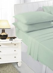 Mint green flat sheet