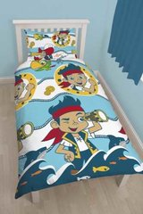 Jake and the Never Land Pirates single duvet cover