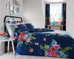Alice blue multi duvet cover