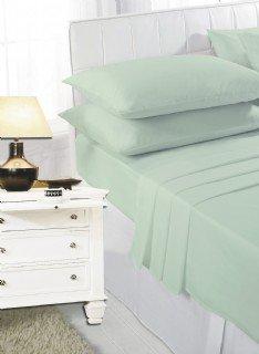 Mint green pillow cases