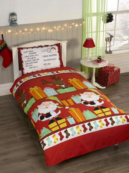 Santa's List duvet cover