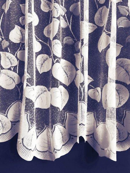 Tanya white net curtains