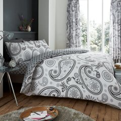 Florance Paisley grey duvet cover