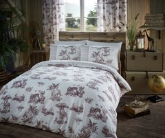 Safari beige duvet cover