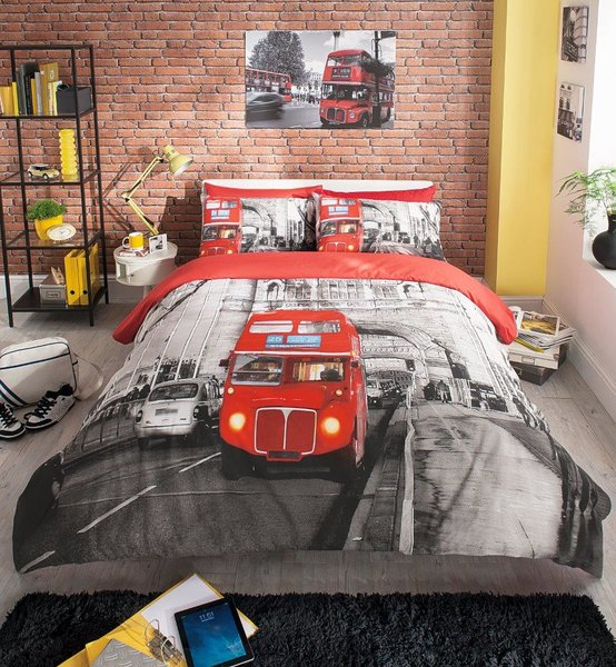London Bus duvet cover