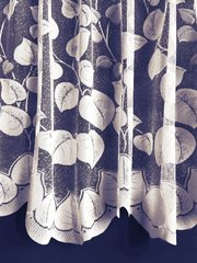 Tanya white net curtains