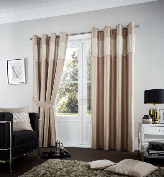 Fuel mink eyelet curtains