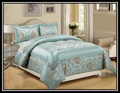 Nutmeg Betty 3 piece bedspread
