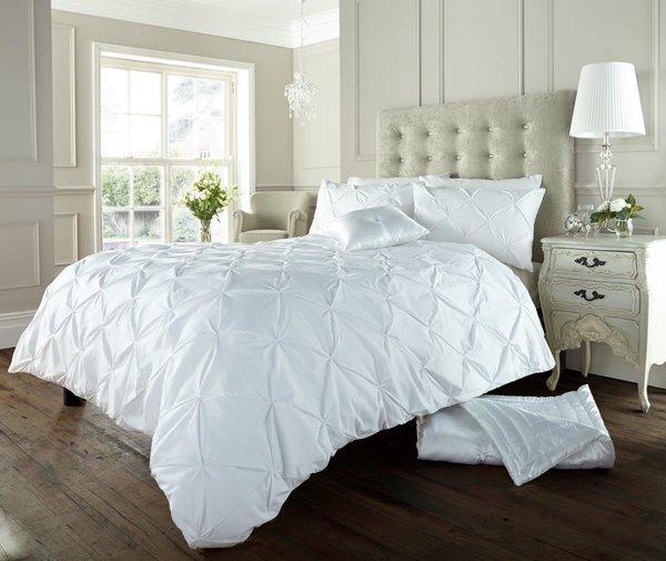 Alford white duvet cover