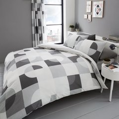 Alexa grey duvet cover
