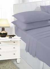 Dark grey fitted sheet