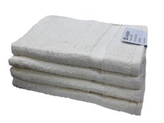 Cream 100% cotton bath sheet