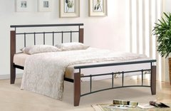 Ray black metal bed frame