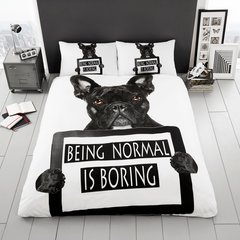 3D print Bull Dog duvet cover