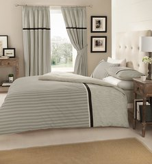 Valeria grey duvet cover