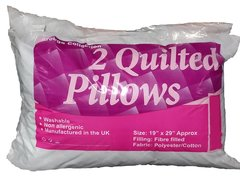 Quilted pillows - 2 pack
