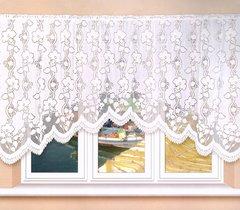 Andrea white jardiniere net curtain