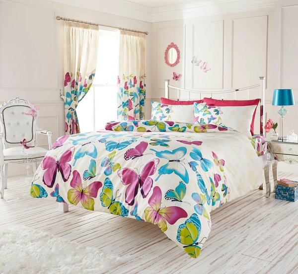 Fashion Butterfly multi duvet cover