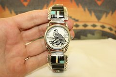 Inlay Mens Watch - W118