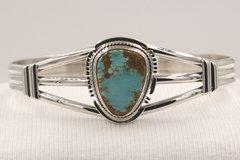 Number 8 Mine Turquoise Bracelet- N85924