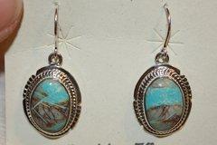 Boulder Turquoise Earrings - BL336