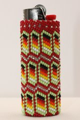 Beaded Bic Lighter Case - LC1143