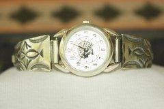 Sterling Silver Ladies Watch - W106