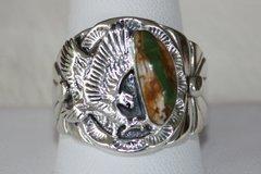 Boulder Turquoise Men's Ring - BL4400 - SOLD