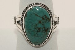 Number 8 Mine Turquoise Ring - N8916